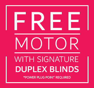 Free motor for blinds