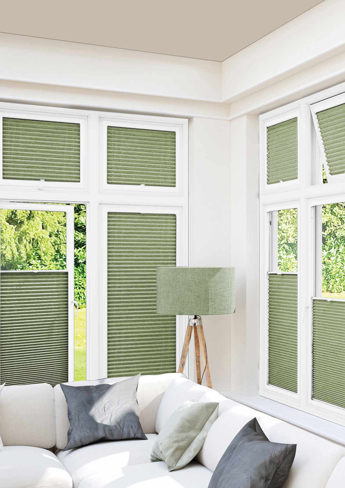 Honeycomb Blinds -  DARBY PISTACHIO