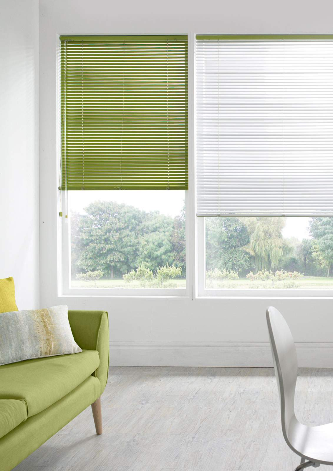 Aluminium Venetian Blinds -  Madiba Apple