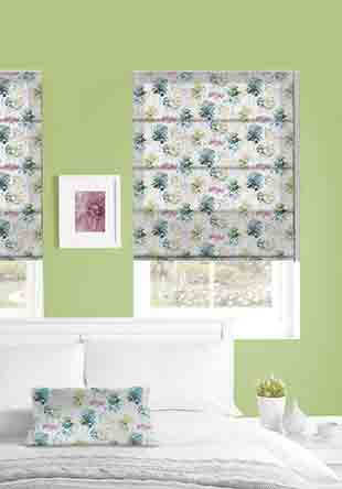 Roman Blind - Watercolour Forest