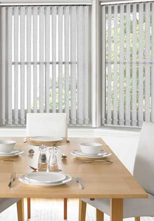 Vertical Blinds - Bermuda White
