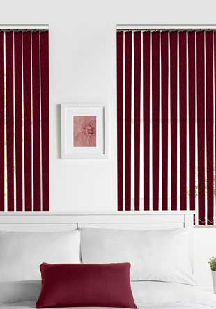 Vertical Blinds - Tuscanny wine