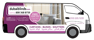 Dubai blinds van