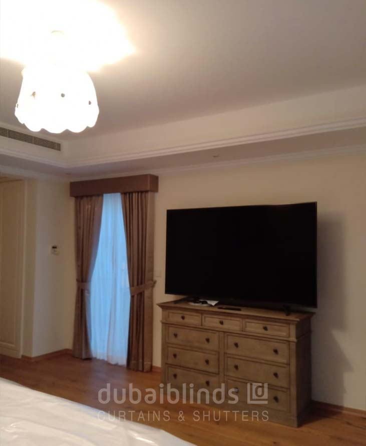 Curtains in arabian ranches dubai
