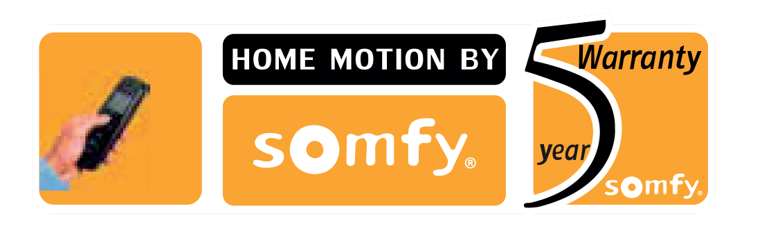 Somfy Motorized Blinds