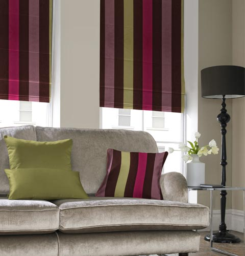 Roman blinds in Dubai