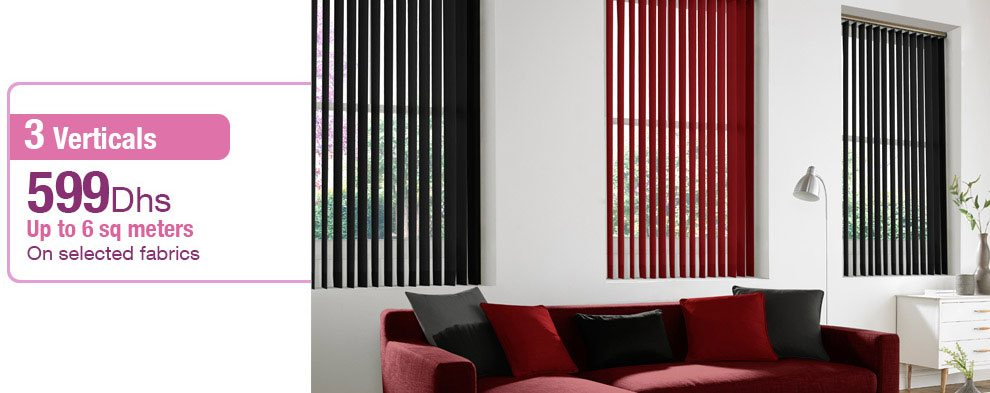 Vertical Blinds Offer