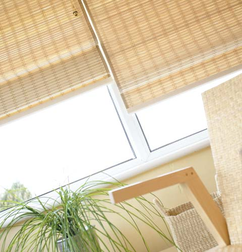 wood weave blinds in Dubai